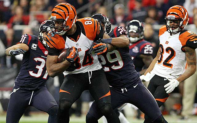 The Texans defense shut down the Bengals in a 19-13 win, setting up a rematch with New England. (US Presswire)