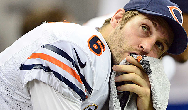 Jay Cutler needs fixing, and Marc Trestman has a history of making QBs better. (US Presswire)