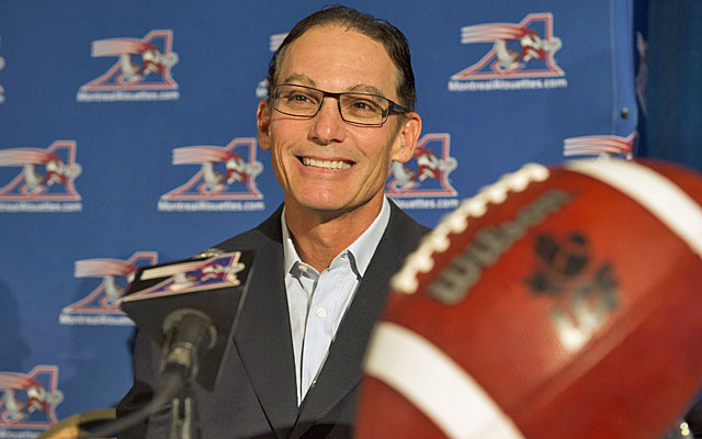 Marc Trestman spent several seasons as an NFL assistant before leading Montreal to two Grey Cup titles. (AP)