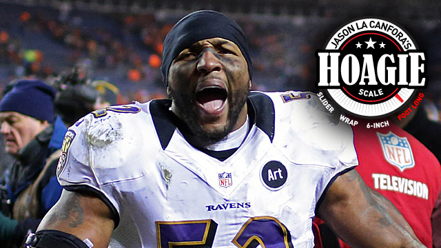 After a gritty win in Denver, the Ravens will visit the Patriots. (US Presswire)