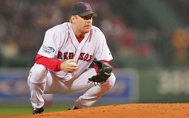 Curt Schilling won Game 2 of the 2004 World Series as the Red Sox swept the Cardinals for the title. (Getty Images)