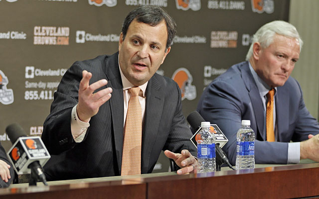 We haven't seen this man since he was hired in Cleveland. (AP)