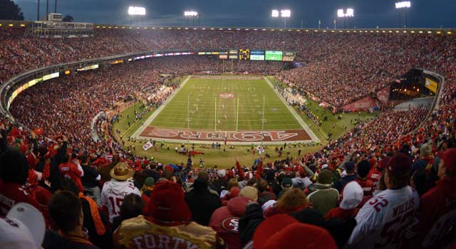 Will 49ers fans be on their best behavior in New Orleans? Gregg Doyel hopes so. (US Presswire)