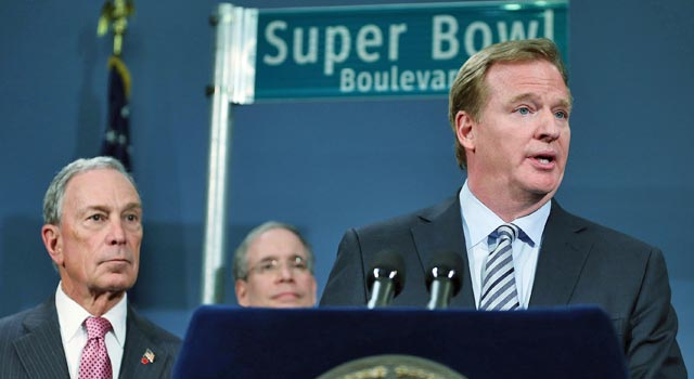 'Football is made to be played in the elements,' Roger Goodell says. (US Presswire)