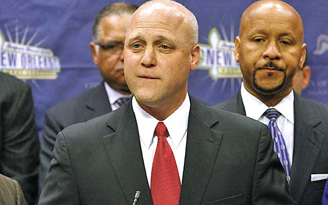 Mitch Landrieu says the power outage won't pull the plug on future Super Bowl bids. (AP)