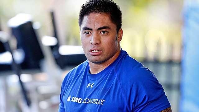 Te'o is certain to face a lot of questions from NFL teams at the combine. (Getty Images)