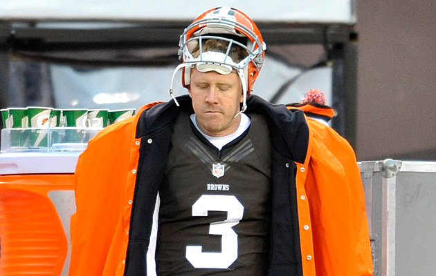 Weeden is the future... for now. (USATSI)