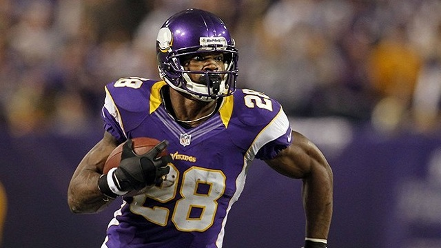 Adrian Peterson was the Vikings offense last season. Now they just need to improve their defense. (AP)