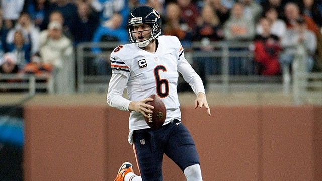 The Bears' defense was fine last year. Now it is time to build around Jay Cutler. (USATSI)