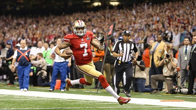 Colin Kaepernick and the 49ers will be looking for a No. 2 reciever. (USATSI)