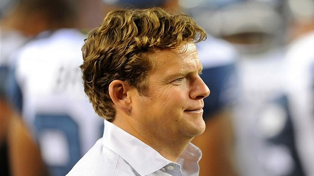 Seahawks GM John Schneider has plenty of cap room to work with. (USATSI)