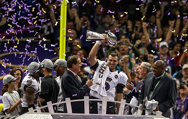 Flacco deserves to be mentioned as one of the league's best quarterbacks. (USATSI)