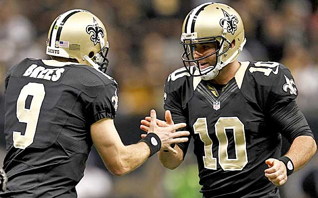 Could Drew Brees' backup start pushing Mark Sanchez for time with the Jets? (USATSI)