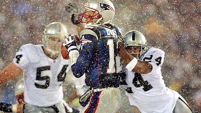 The infamous tuck rule is no longer. (USATSI)