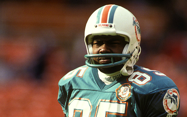 Former Miami Dolphins receiver Mark Duper is accused of child abuse. (Getty Images)