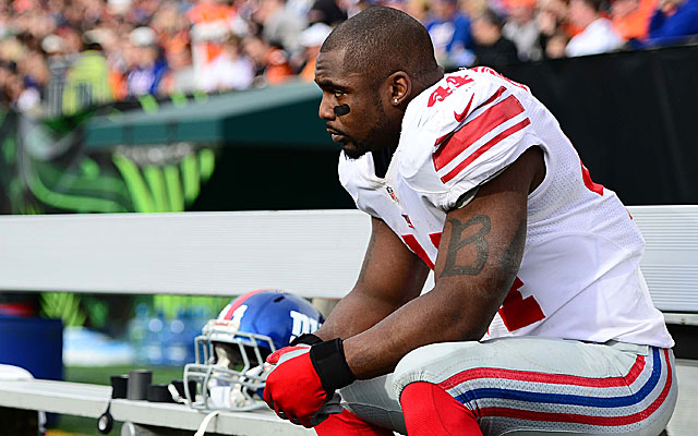 Ahmad Bradshaw reportedly is visiting the Colts on Thursday. (USATSI)