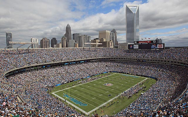 A series of upgrade to the stadium should keep the Panthers in Charlotte for the foreseeable future. (Getty Images)