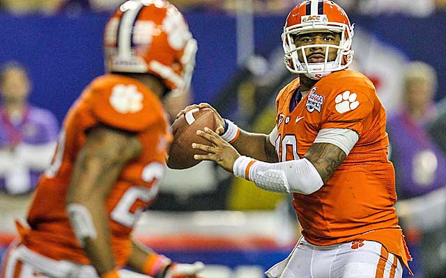 Clemson's Tajh Boyd is a dual-threat QB with an accurate arm. (USATSI)