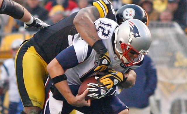 Tom Brady and the Steelers have plenty of history, most of it in Brady's favor. (Getty Images)
