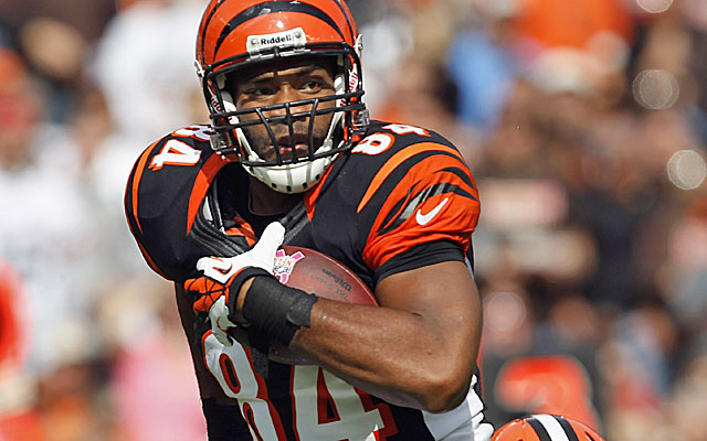 Jermaine Gresham has yet to live up to being drafted 21st overall in 2010. (Getty Images)