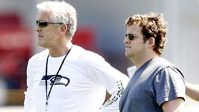 Pete Carroll and John Schneider have quickly turned the Seahawks into a winner. (USATSI)