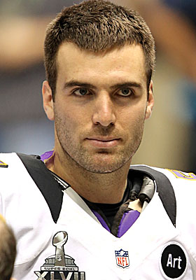 With Ray Lewis and Ed Reed gone, it's now Joe Flacco's team in Baltimore. (USATSI)