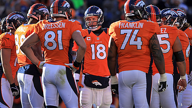The sting of last season's playoff loss has the Broncos focused on finishing in 2013. (Getty Images)