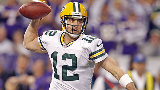 Aaron Rodgers is the top QB in the NFL according to Prisco's rankings. (USATSI)