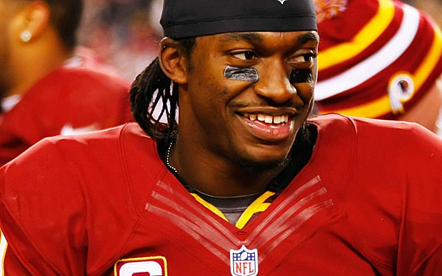 RG3 seems to easily shrug off any criticisms or negativism from haters. (USATSI)