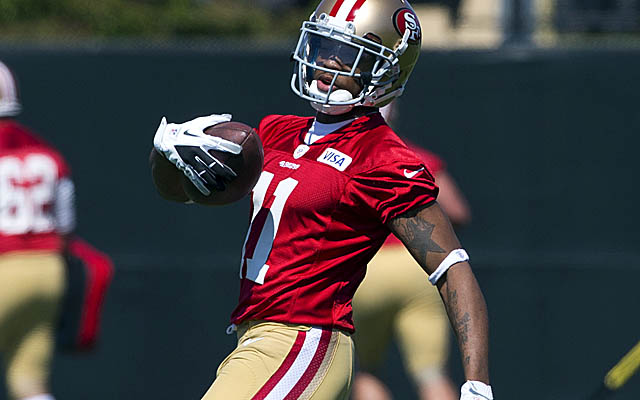 With Crabtree out, the Niners will test Quinton Patton, their fourth-round pick out of La. Tech. (Getty Images)