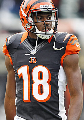 A.J. Green has a year left on his rookie deal before he'll cash in big. (USATSI)