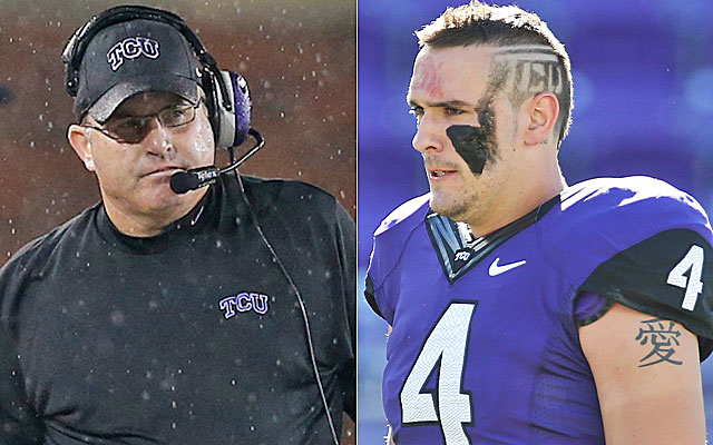 Gary Patterson says Casey Pachall is a changed man since the QB exited drug rehab. (USATSI)
