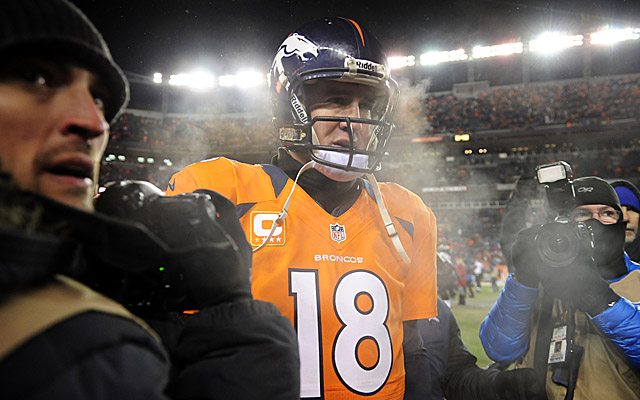 Frigid temps helped put Denver on ice in last season's playoffs. Can Peyton Manning warm up in the cold? (USATSI)