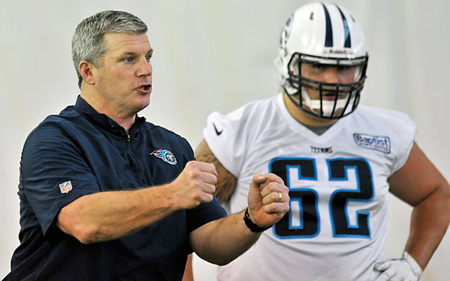 Mike Munchak's rebuilt offensive line will likely have rookie center Brian Schwenke as its fulcrum. (USATSI)