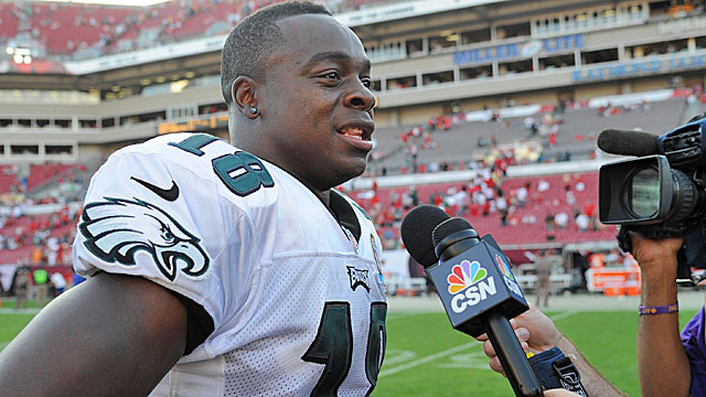Jeremy Maclin's foundation is dedicated to helping youths and families facing alternative living situations. (USATSI)