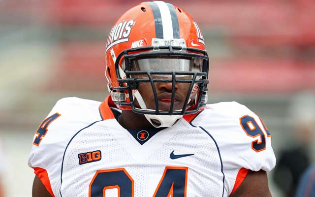 At 6-foot-1 and 307 pounds, Spence should be a presence on the defensive line. (USATSI)
