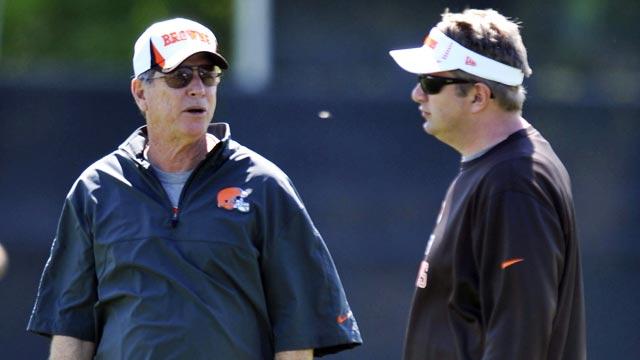 New OC Norv Turner and head coach Rob Chudzinski face big personnel challenges. (USATSI)