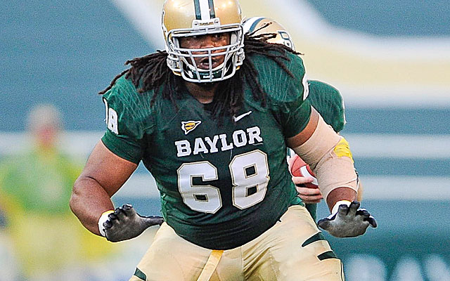 Guard Cyril Richardson is among the top interior line prospects in the nation.(USATSI)
