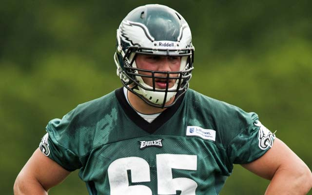 Lane Johnson's rookie contract includes offset language. (USATSI)