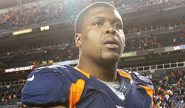 For now, Denver isn't sure of Ryan Clady's future. (USATSI)