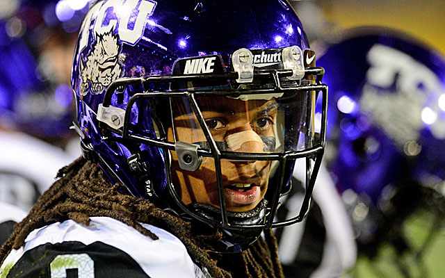 Ball-hawk Jason Verrett is rated the top senior cornerback prospect. (USATSI)