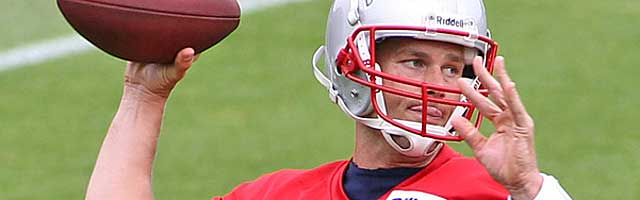 Tom Brady likes precise routes. Do the Pats have the horses to run them? (USATSI)