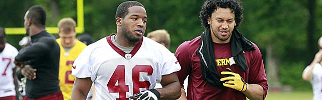 When Alfred Morris carried 20-plus times in 2012, good things happened for the Skins. (USATSI)