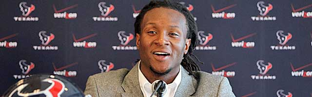 The Texans hope DeAndre Hopkins takes some heat off of Andre Johnson. (USATSI)