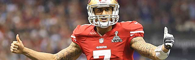 The 49ers are Colin Kaepernick's team now, and they have some questions. (USATSI)