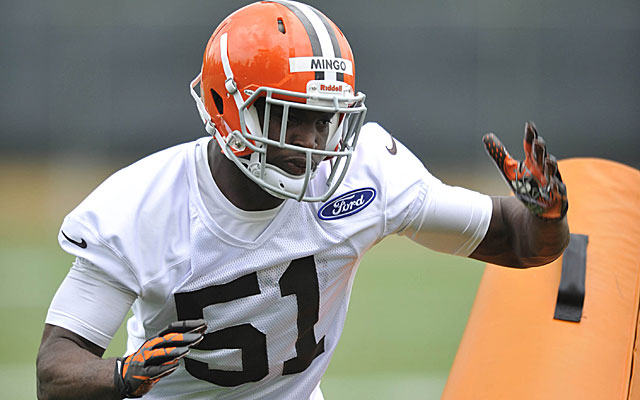 Barkevious Mingo, the Browns' first draft choice, has been impressive. (USATSI)