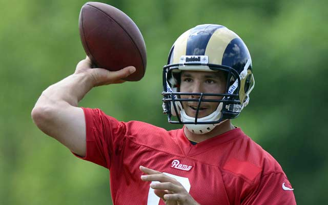 The Rams' fate rests on Sam Bradford's shoulders.