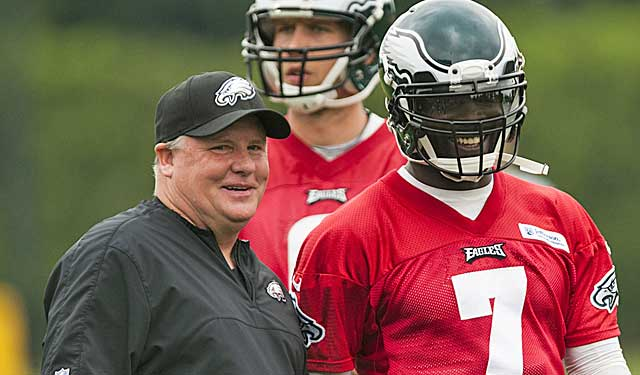 Chip Kelly isn't getting a lot out of Michael Vick and the offense, but it's early. (USATSI)