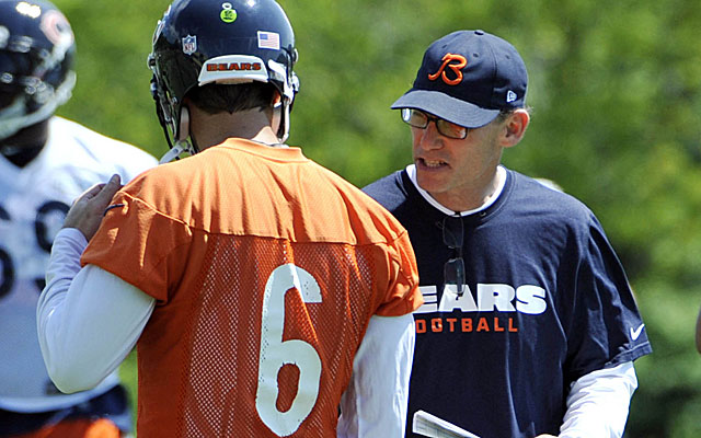 Will Jay Cutler be around next year with coach Marc Trestman? (USATSI)