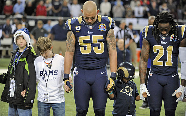 Rams defensive captain James Laurinaitis says Janoris Jenkins (21) is overcoming his youthful mistakes. (USATSI)